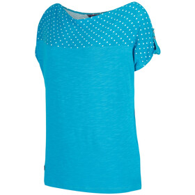 Regatta Freesia t-shirt Dames, enamel polka